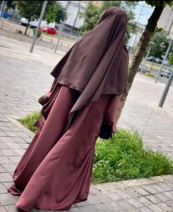 Khimar XtraLong T1 Taupe
