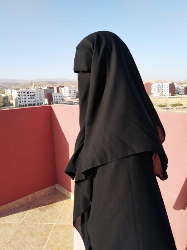 Niqab Casquette 1m50
