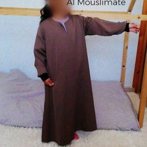 """Abaya manches droites """"Binti"""" Al Mouslimate"""