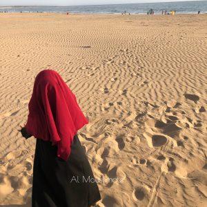 Abaya binti manches lycra noir Al Mouslimate