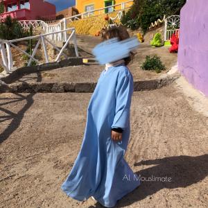 Abaya binti manches lycra Al Mouslimate